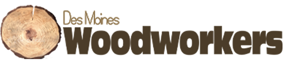 Logo for the Des Moines Woodworkers