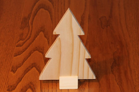 Scroll Saw Christmas Tree Pic