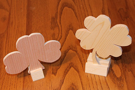 Scroll Saw Clover Pic