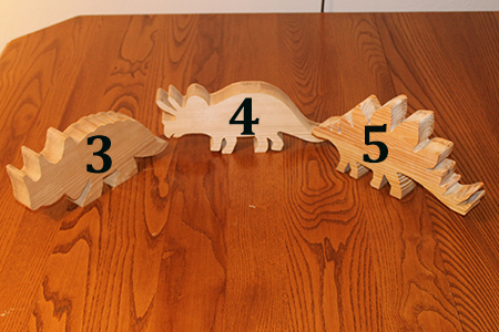 Scroll Saw Dinosaurs 2