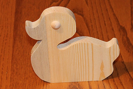 Scroll Saw Duck Pic