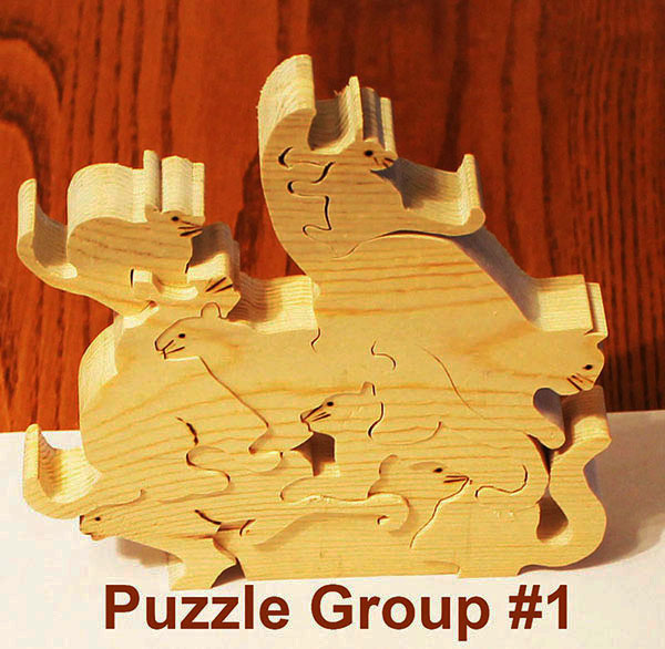 Scroll Saw Puzzle 1