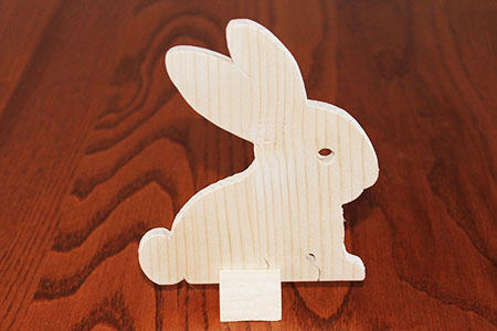 Scroll Saw Rabbit Pic
