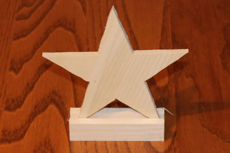 Scroll Saw Star Pic