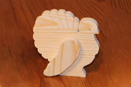Scroll Saw Turkey Pic
