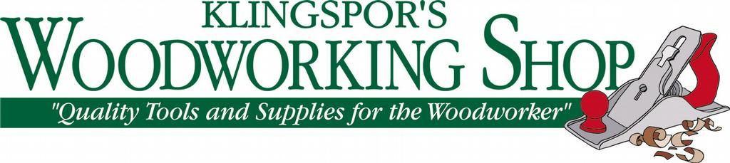 Klingspor's Woodworking Shop logo